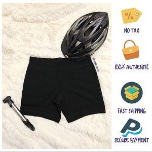 Danskin Black Bike/Yoga/Running Shorts (Stretch)